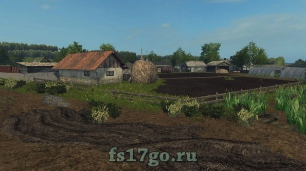 Мод карты «Село Курай» для Farming Simulator 2017