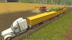 Мод Semi-Tipper 70000/6 для Farming Simulator 2017