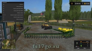 Сеялка «John Deere DB 120 IDK» для Farming Simulator 2017