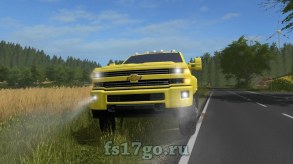 Мод Chevrolet Silverado 3500HD для Farming Simulator 2017