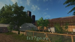 Карта «Hof Bergmann Map» для Farming Simulator 2017