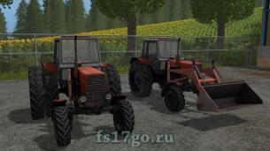 Трактор «Беларус МТЗ 82» для Farming Simulator 2017