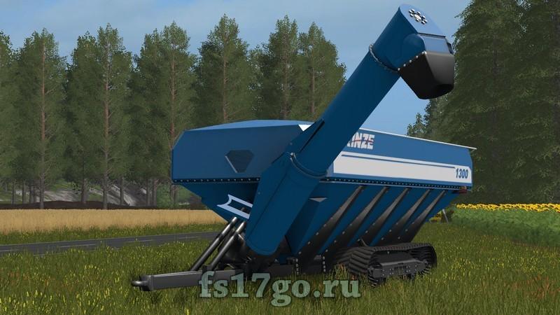 Farming simulator 19 прицеп с винтовым конвейером элеватор выгрузка зерна