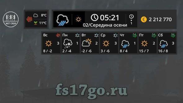 мод seasons для фс 17