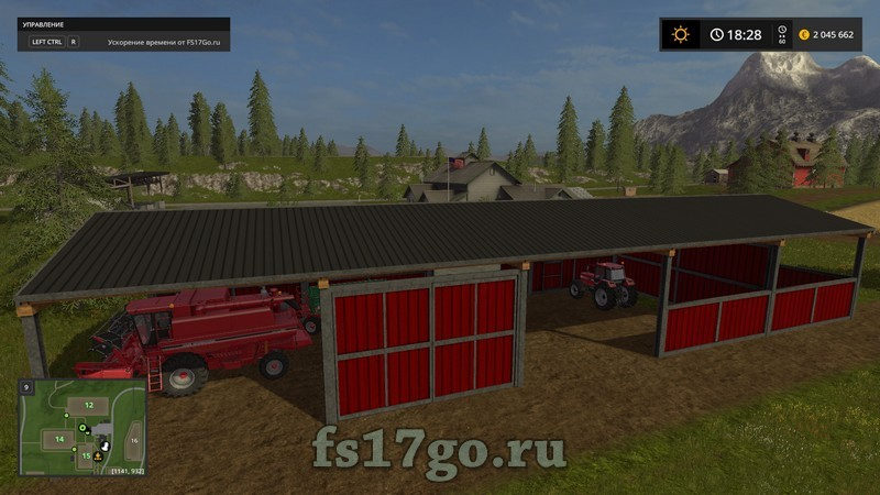 Скачать мод для farming simulator 2017 на постройку