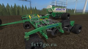 Мод сеялки «Агромаш IAD15» для Farming Simulator 2017