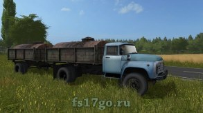 Мод «ЗиЛ-130 Пак» для Farming Simulator 2017