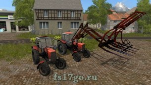 Мод Стогомёт «МТЗ 82» для Farming Simulator 2017