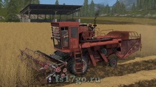 Мод комбайна «Енисей 1200-1» для Farming Simulator 2017