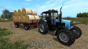 Мод «KroneBale UAL» для Farming Simulator 2017