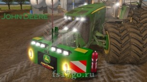 Противовес «John Deere Weight» для Farming Simulator 2017