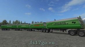 Мод Custom Road Train Pack RUS для Farming Simulator 2017