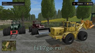 Мод «К-701 ПКУ + инвентарь» для Farming Simulator 2017