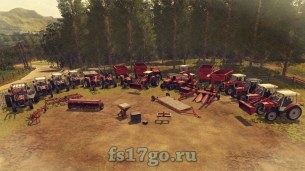 Пак «MF Old Generation 1970-1990» для Farming Simulator 2017