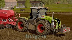 Мод Claas Xerion 4500/5000 (2009-2013) для Farming Simulator 2017