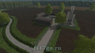 Карта «Springfield Estate» для Farming Simulator 2017