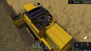Мод New Holland TC 59 Hydro для Farming Simulator 2017
