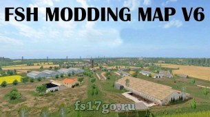 Карта «FSH Modding Map» для Farming Simulator 2017