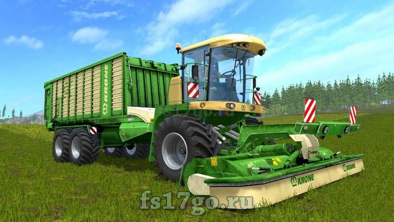 мод фермер симулятор 2017 косилки