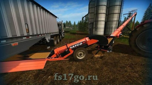 Мод конвейер «Batco Belt Pack» для Farming Simulator 2017