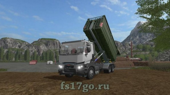 Мод тягач «Biobeltz ITR 480» для Farming Simulator 2017