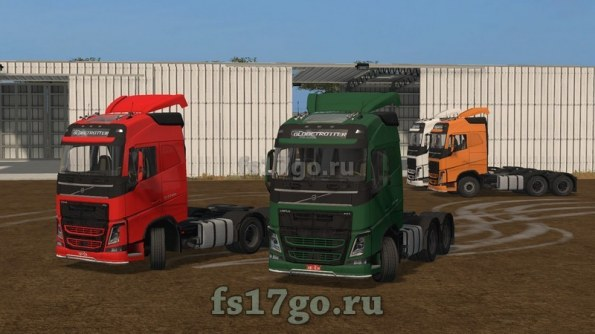 Мод тягач «VOLVO FH 540» для Farming Simulator 2017