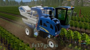 Комбайн для винограда «New Holland 9060L» для Farming Simulator 2017