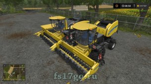 Мод Пак «New Holland Roll-belt 150» для Farming Simulator 2017