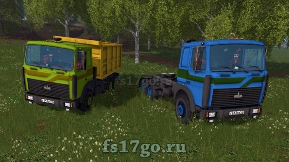 Мод «МАЗ-5516» для Farming Simulator 2017