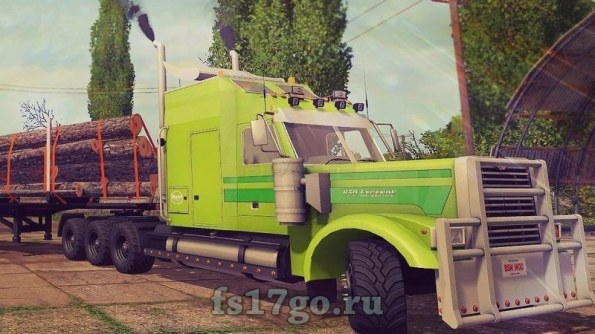 Мод «BSM Truck 950 Legende» для Farming Simulator 2017