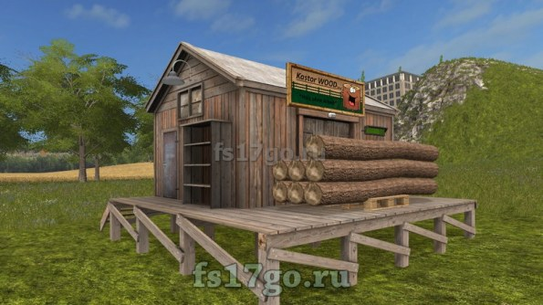 Мод «Kastor Wood Inc placeable» для Farming Simulator 2017