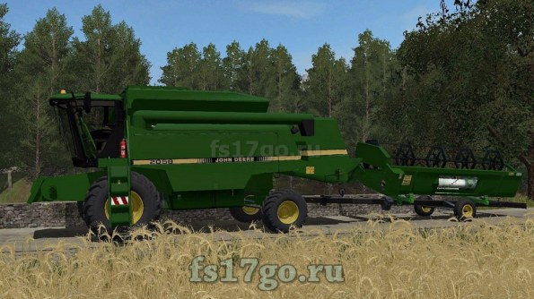 Мод «John Deere 2058» для Farming Simulator 2017