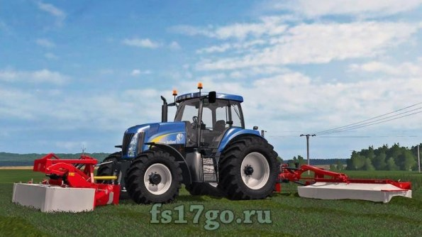 Мод «New Holland TG200» для Farming Simulator 2017