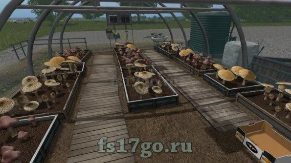 Теплицы «Giants GreenHouses Placeable» для Farming Simulator 2017