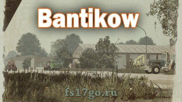 Карта «Bantikow» для Farming Simulator 2017