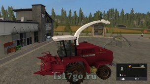 Мод комбайна «КВК 800» для Farming Simulator 2017