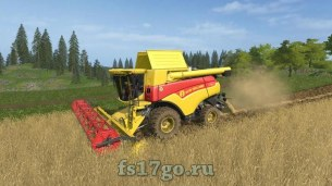Мод пак «New Holland CR 7.90» для Farming Simulator 2017