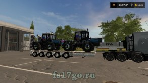 Мод Пак «Doll Panther low loader» для Farming Simulator 2017