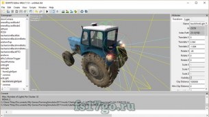 Программа GIANTS Editor 7.1.0 для Farming Simulator 2017 - Создание модов