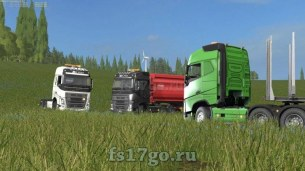 Мод тягача «Volvo FH16 750» для Farming Simulator 2017