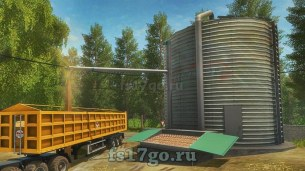 Мод «Grains Storage Silo Placeable» для Farming Simulator 2017