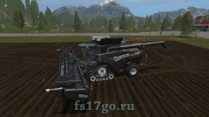 Мод «New Holland CR10.90 Forage Pack» для Farming Simulator 2017