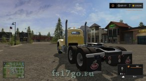 Мод тягача «Old Mack B-61» для Farming Simulator 2017