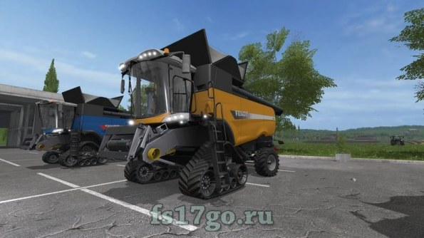 Мод «Fendt 9490 X Series» для Farming Simulator 2017