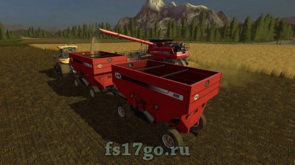 Мод «JM 680SD Gravity Wagon» для Farming Simulator 2017