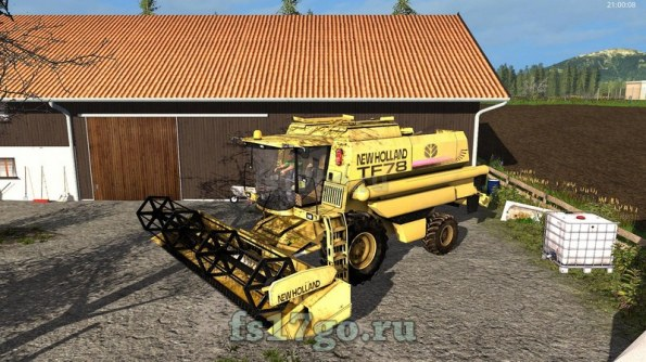 Мод «New Holland TF78» для Farming Simulator 2017
