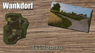 Мод карты «Wankdorf» для Farming Simulator 2017