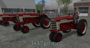 Пак тракторов «Farmall Pack» для Farming Simulator 2017