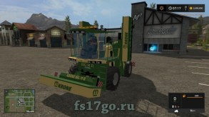 Мод косилка «Krone BigM II» для Farming Simulator 2017