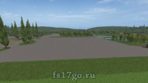 Карта «Sosnovka Flatten» для Farming Simulator 2017
